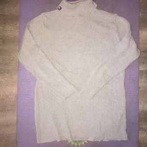 ❤️ VTG Polo Jeans Co Grey Turtle Neck Sweater ❤️